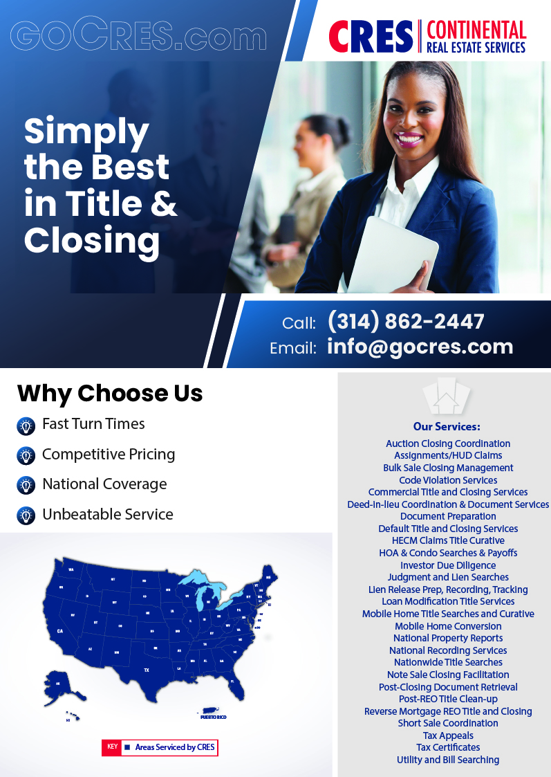 CRES Services Flyer